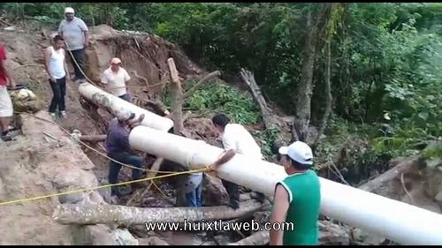 Se complica la escases de agua en Tuzantán