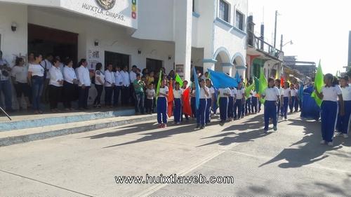Gobierno municipal de Huixtla conmemora 108 aniversario del inicio de la Revolución Mexicana