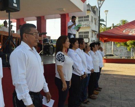 Gobierno de Huixtla realiza homenaje conmemorativo de la Revolución Mexicana