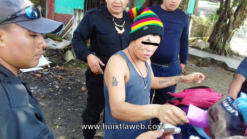 Mara homicida y secuestrador detenido en Huixtla