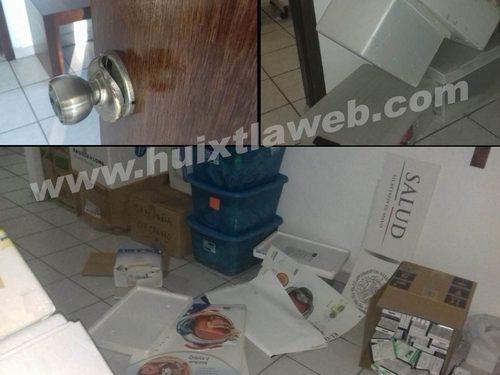 Siguen los robos en el hospital de Huixtla