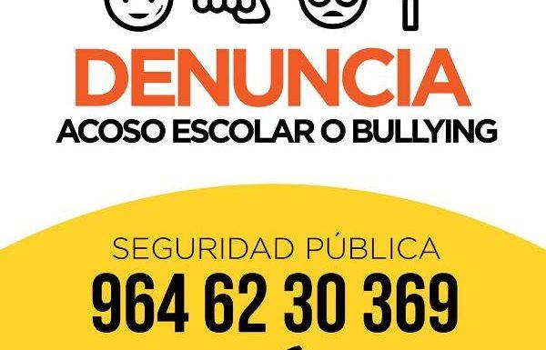 Gobierno municipal proporciona numero en caso de acoso o Bullyng escolar