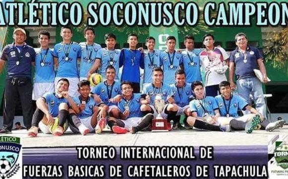 Atlético Soconusco de Suchiate,  Campeón