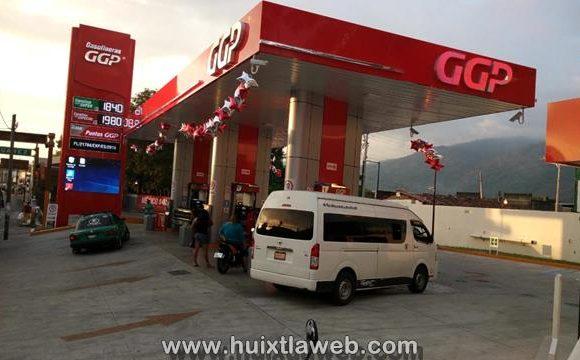 Litros incompletos de nueva gasolinera en Huixtla