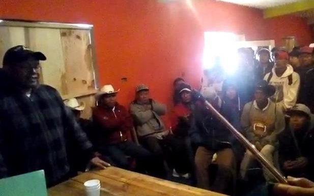 Habitantes de porvenir piden el esclarecimiento de un muerto y la liberación de un preso político