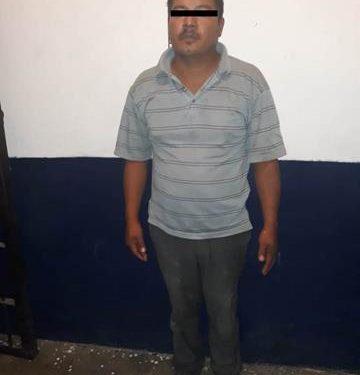 Cae ladrón de carros en Huixtla