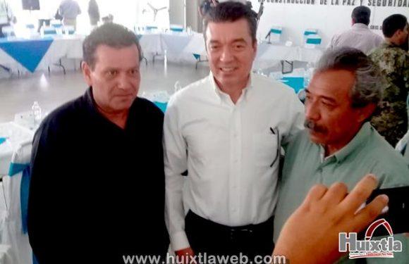Alcalde de Huixtla asiste a reunión de seguridad con gobernador de Chiapas