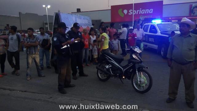 Colectivo de la Reydari atropella a motociclista