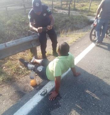 Atropellan a motociclistas en carretera Villa a Escuintla