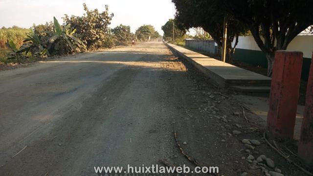 Desapareció carretera que conduce al ingenio