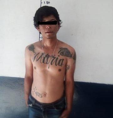 Capturan a mara Huixtleco implicado en homicidios