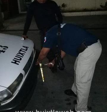 Acusan a vialidad de extorsión en Huixtla