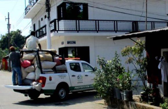 Patrullas para uso personal de funcionarios del ayuntamiento de Tuzantán