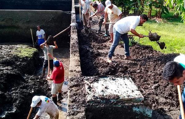 SAPAM realiza trabajos de limpieza en los tanques de almacenamiento de agua