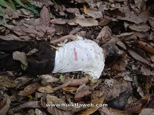Abuelito muere al caer a un barranco en Tuzantán
