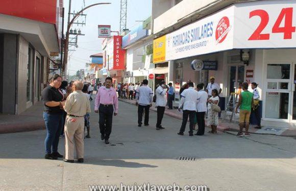 Pánico por temblor del día viernes en Huixtla