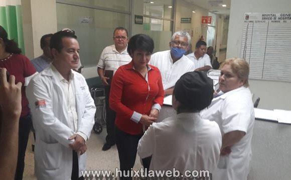 Piden intervención de la diputada local Olvita Palomeque para rehabilitar el hospital de Huixtla