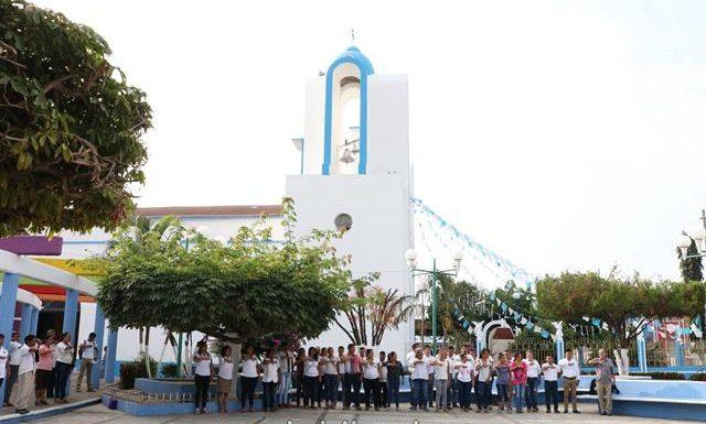 En Mazatán conmemoran el 102 aniversario de la constitución política de México