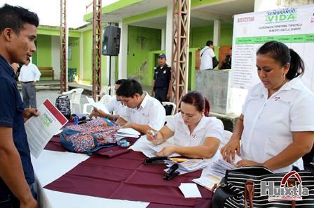 Gobierno municipal realizó reunión con beneficiarios del programa «Sembrando Vida» para entrega de apoyos