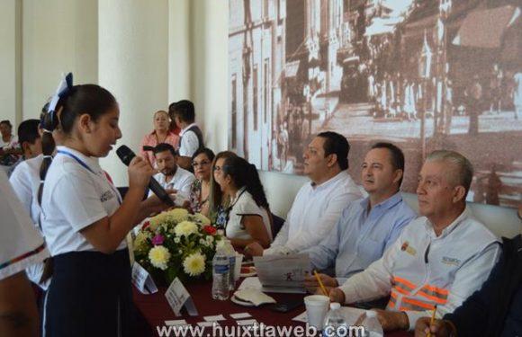 Huixtla tercer lugar en concurso red de niños difusores 2019