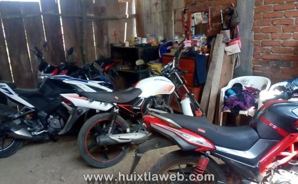 En Huixtla asegura la fiscalía bodega con motocicletas robadas