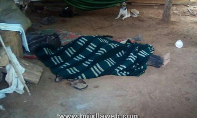 Encuentran a sexagenario muerto en Huehuetán