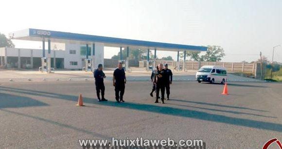 Gobierno municipal mantiene vigilancia a través de puntos de seguridad
