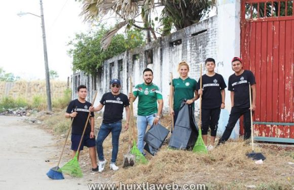 Acciones que fomenten el rescate de áreas verdes promueve ayuntamiento de Huixtla