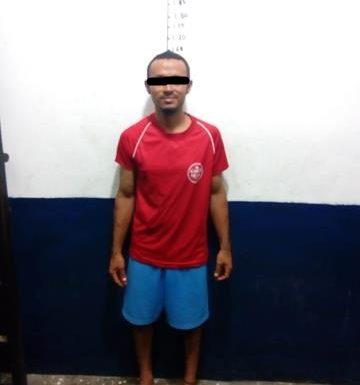 Hondureño detenido por entrar a robar a hotel en Huixtla