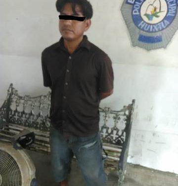 Detienen a sospechosos por atracos en la zona de tolerancia de Huixtla
