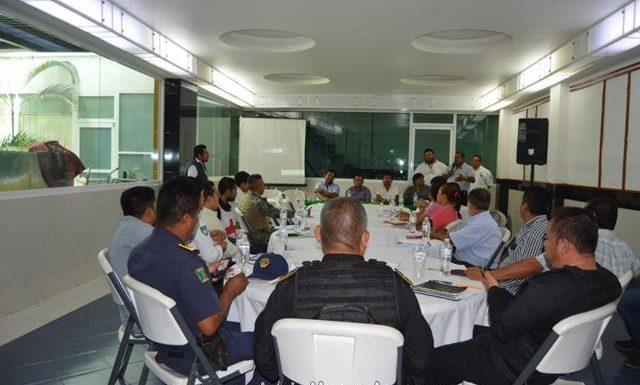 Gobierno de Huixtla presento la instalación permanente del consejo de Protección Civil Municipal