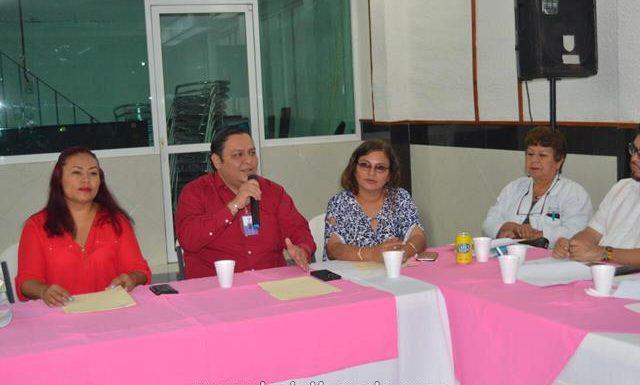 DIF Huixtla, integró el comité técnico municipal