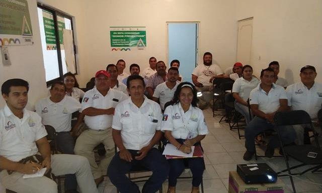 """Pc de Huixtla en videoconferencia: """"Evaluación de estructuras para personal de Protección Civil"""""""