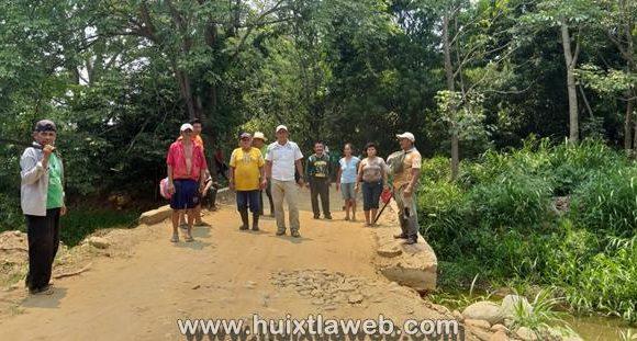Protección Civil del gobierno municipal realiza acciones para salvaguardar a la comunidad de Huixtla