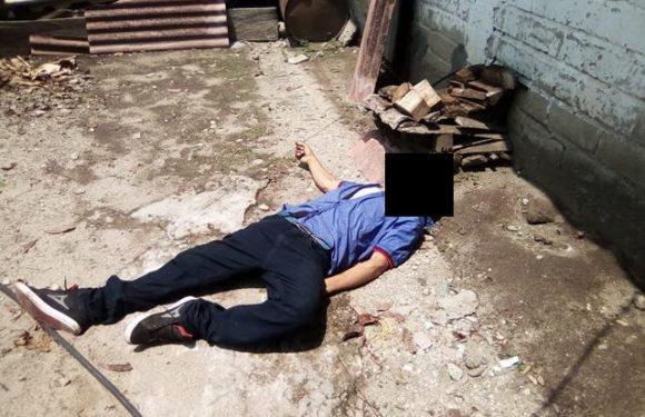 Joven es ejecutado de varios disparos en Acacoyagua