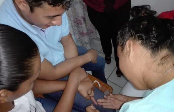 "Salud municipal de Huixtla, recibe capacitación  ""Toma de gota gruesa"""