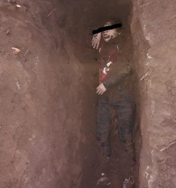 Sin identificar a mujer que fue asesinada y enterrada en un predio en los límites de Tuzantán y Huixtla
