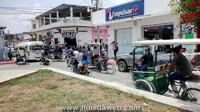 Sin bases oficiales tricicleros en Huixtla