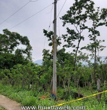 Tapachulteco muere electrocutado en Villa Comaltitlán