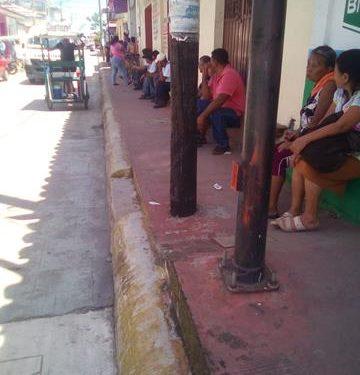 Por bloqueo retrasan el pago de bienestar micro créditos