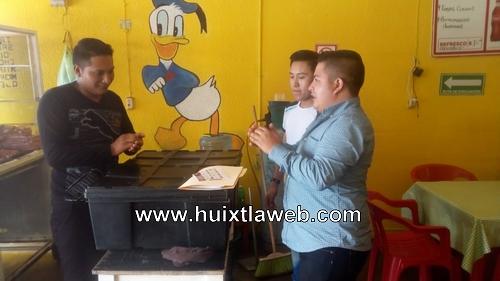 """Seguimiento al proyecto """"Blindando Manos"""" con los locatarios del mercado municipal """"Miguel Hidalgo"""""""