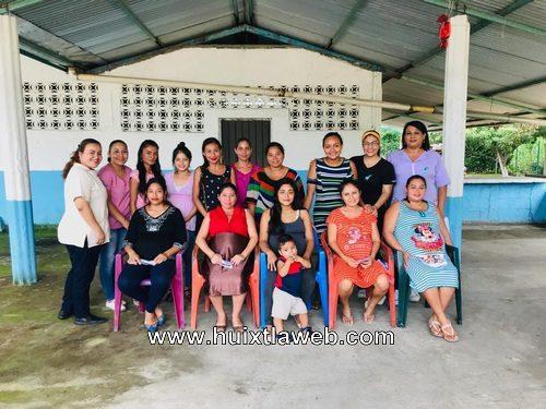 """Llega  a distintas comunidades de Huixtla el proyecto """"Embarazadas responsablemente feliz"""""""