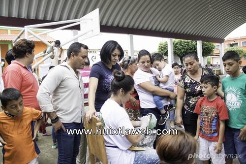 Acompaña la diputada Olvita Palomeque la brigada de asociación civil FEDESACH en Tapachula