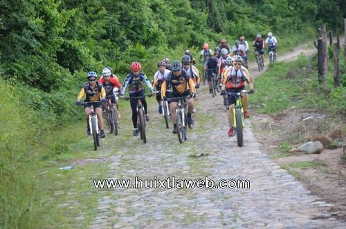Realizan la segunda rodada ciclista a las cascadas de Montecristo