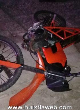Muere joven motociclista en Mapastepec
