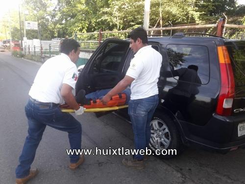 Motociclista Tuzanteco arrollado en carretera Huixtla – Comaltitlán
