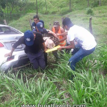 Oaxaqueños se accidentan carretera Huixtla a Tapachula