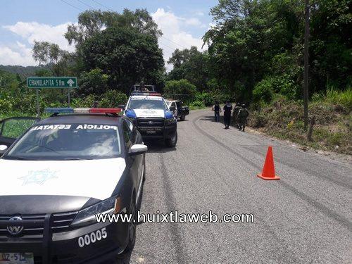 En operativo detienen dos moto taxis y tres del mandadito en Huehuetán