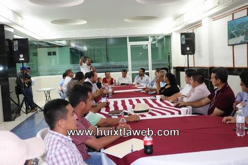 """Protección civil de Huixtla presentó plan específico """"Fiestas Patrias 2019"""""""
