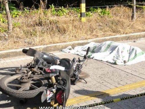 Identifican a motociclista tuzanteco que murió al chocar contra poste